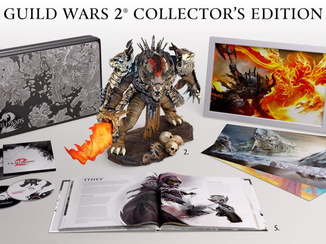 The $150 Guild Wars 2 Collector's Edition Comes with All This Plus a Three-Day Head Start