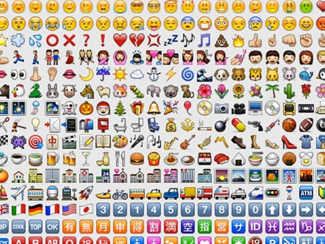 Horrible, Joyless Patent Trolls Are Suing Samsung and RIM Over Emoticons (o_O)