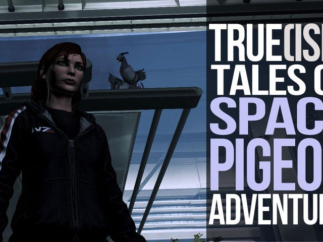 Pigeon Pioneers: How Flying Rats Made it to Mass Effect's Citadel