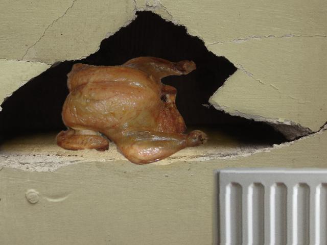 Mmmmm, Piping-Hot Wall Turkey, Just Like Konami Used to Make