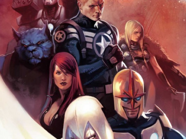Enter the Secret Avengers (as opposed to the Public Avengers)!