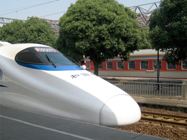Californian Bullet Trains Planned With Chinese Know-How