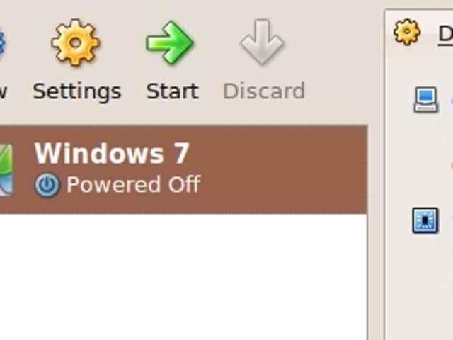 Access a Windows 7 Installation in Mac OS X with VirtualBox