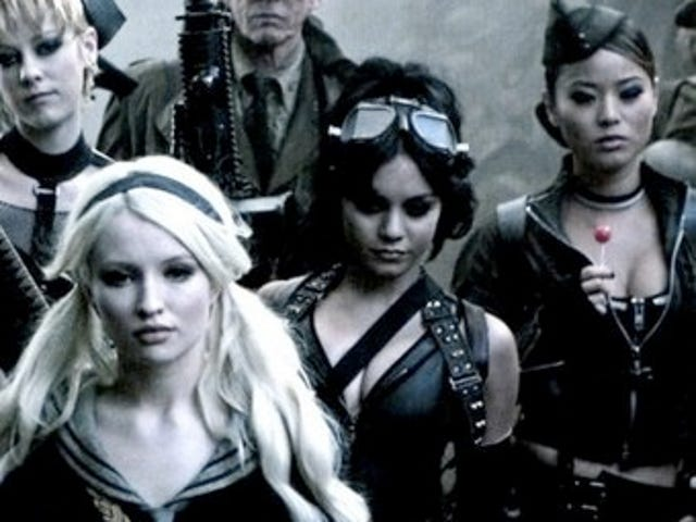First look at Zack Snyder's leather-clad army of crazy women in Sucker Punch