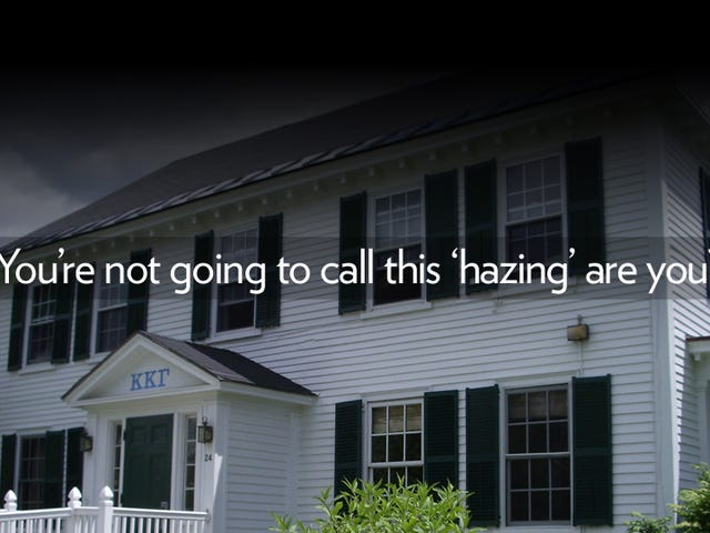 Dartmouth Sorority Girl Goes Public With Her Hazing Nightmare