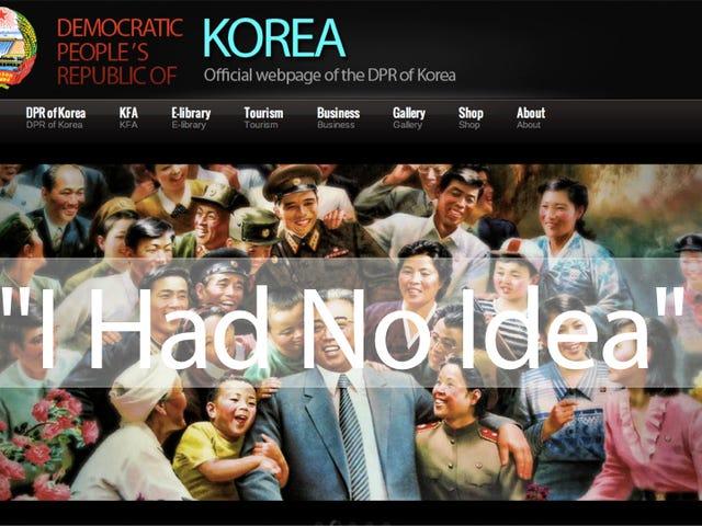 Meet the American Who Designed North Korea's Atrocious Website