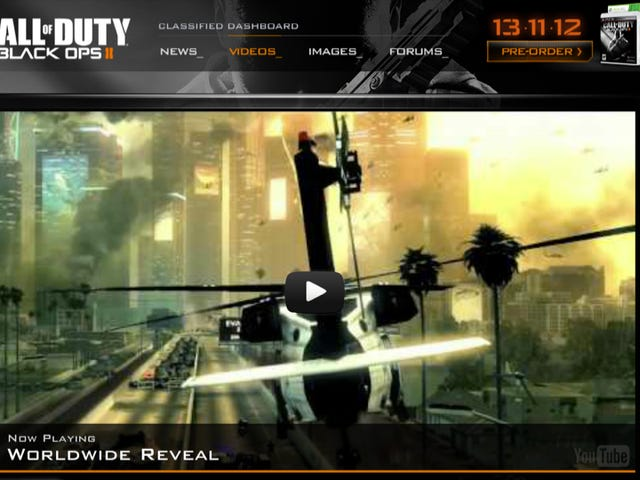 Call of Duty: Black Ops II Is Official