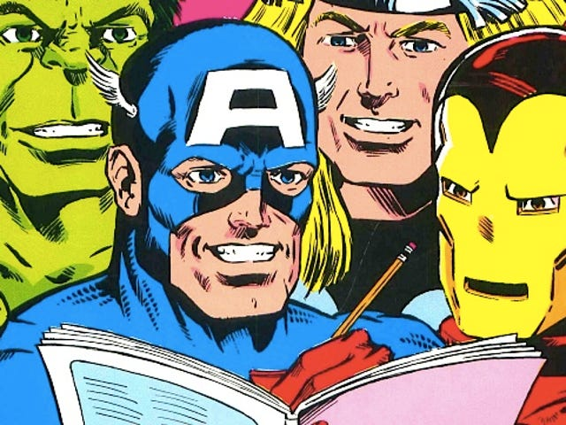 Completely insane Avengers coloring book asks kids to enter the maze in Hulk's pants