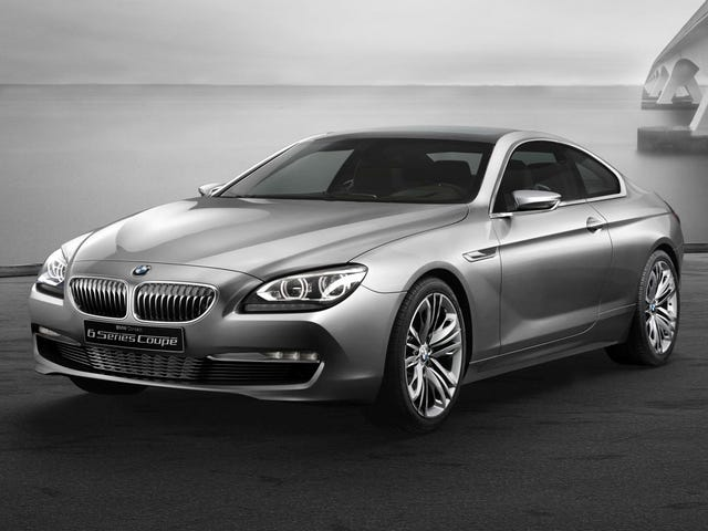 BMW 6 Series Coupé Concept Is Not A Concept