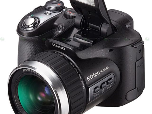 Casio's Exilim Cam Lets You Shoot 300 Frames Per Second, MythBusters-Style