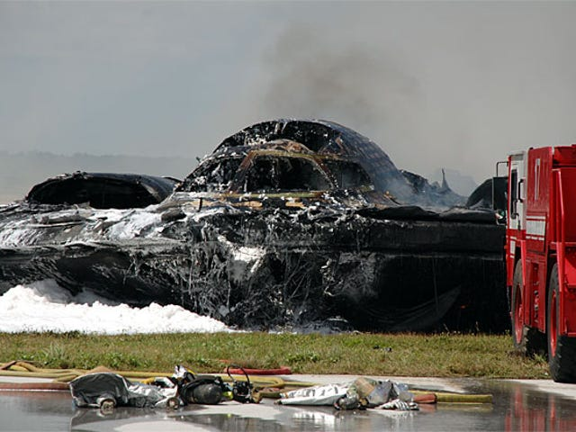 New B-2 Bomber Crash Photos Show Carnage Up Close