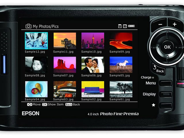 Epson's P-6000 and P-7000 Photo Viewers Look Semi-Decent, But Expensive