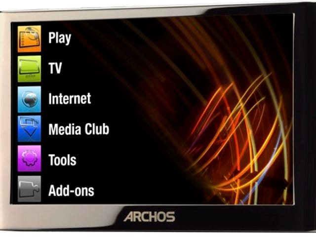 Archos Gen-6 5G PMP is 3G Web Surfing, HD Video, Touchscreen Beauty