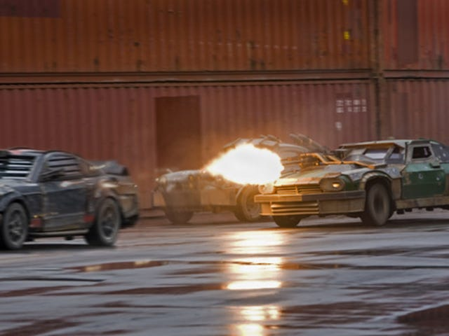 Death Race: Filmed by Running Cameras Over