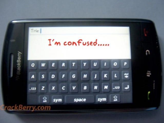 BlackBerry Storm Has Multiple Personalities: is BlackBerry Thunder