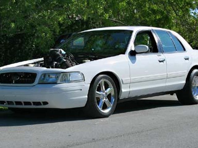 Engine Swap of the Day: Lightning-Engined Crown Vic
