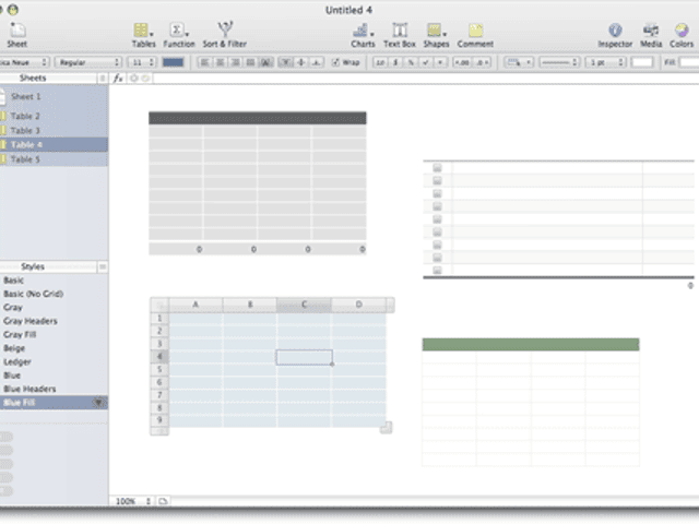 iWork's Numbers changes the spreadsheet paradigm