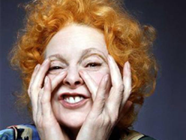 Vivienne Westwood Cuts First Record At 67!