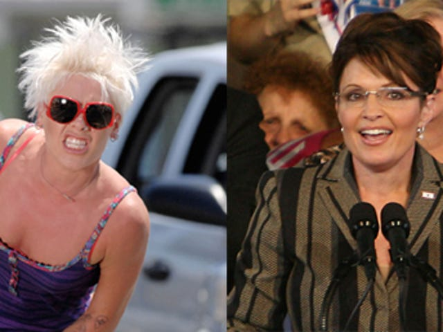 """Pink On Palin: """"This Woman Hates Women"""""""
