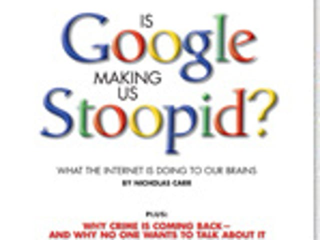 Google is NOT Making us STUPID