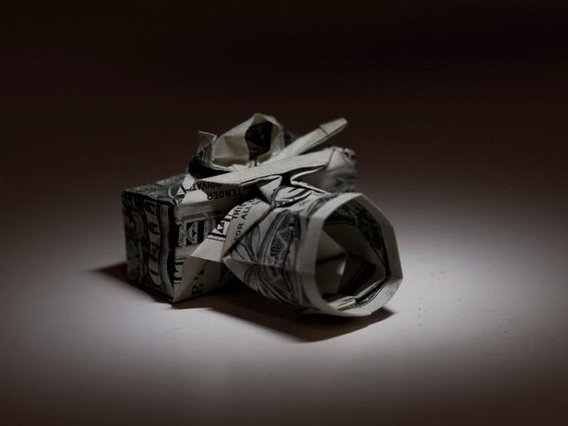 How to Fold Your Own Origami Camera From a Dollar Bill