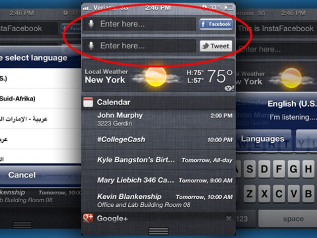 InstaFacebook and InstaTwitter Allow for Speedy Social Media Posting from the Notification Center