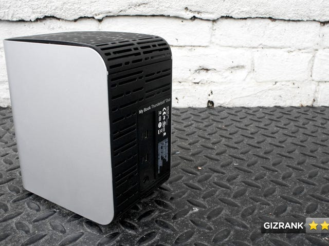 Western Digital My Book Thunderbolt Duo Lightning Review: A Giant Gorilla