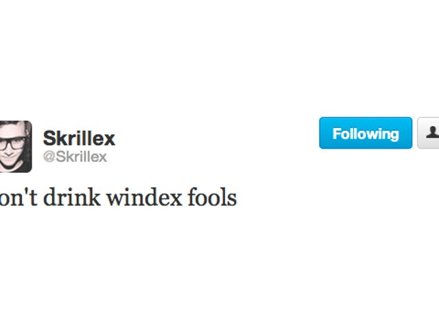 Skrillex's Advice Is Good Advice for Everybody