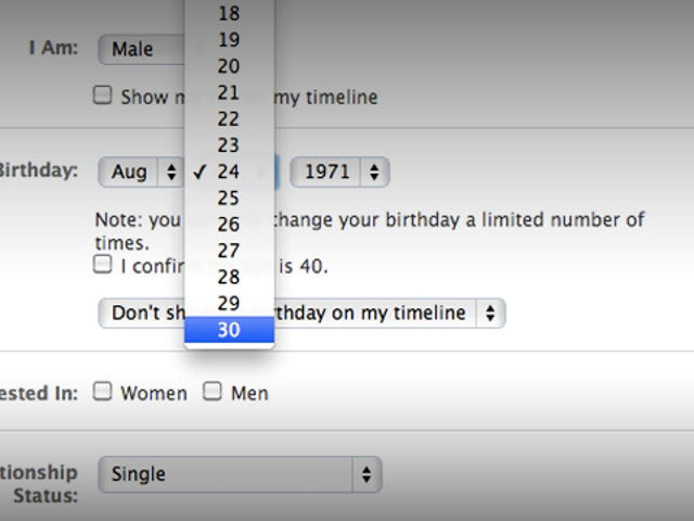 Facebook Thinks That All Months Have Only 30 Days