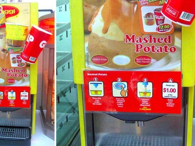 7-11 Now Serves Mashed Potatoes Like a Slurpee
