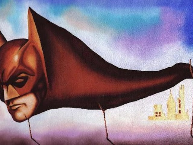 Batman gets a Surrealist makeover as Salvador Dali's monstrous Sleep