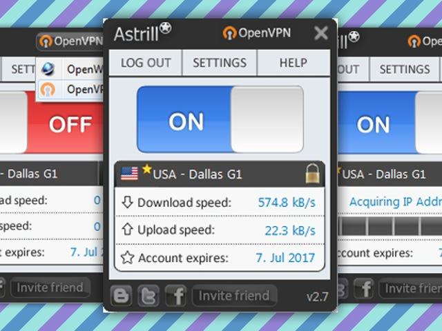 Most Popular VPN Service Provider: Astrill VPN