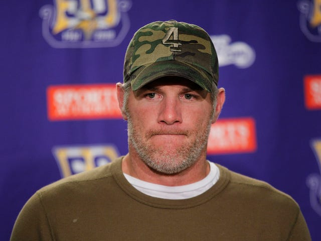 We'll Never Know If Brett Favre Had To Discuss His Penis Under Oath