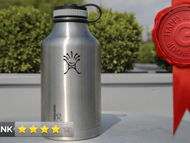 Hydro Flask Vacuum Insulated Steel Growler Review: Big. Cold. Beer.