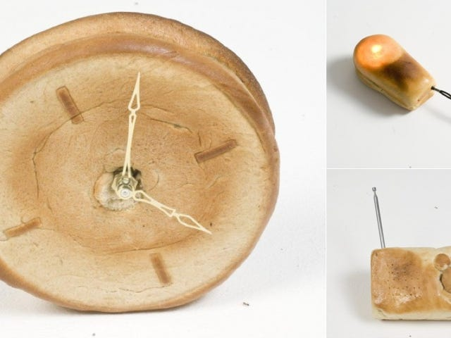 These Working Gadgets are Made of Bread