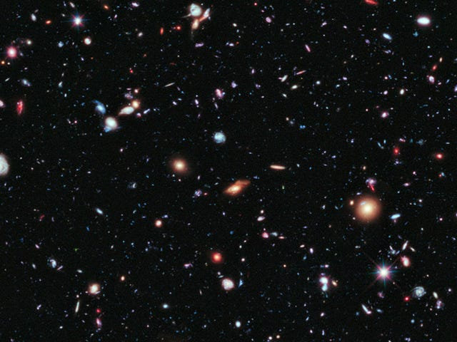 This spectacular image is the deepest view of the Universe ever captured