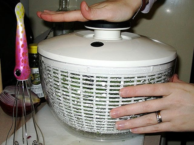 Wash Bras and Other Delicates in a Salad Spinner to Protect Them from Wear and Tear