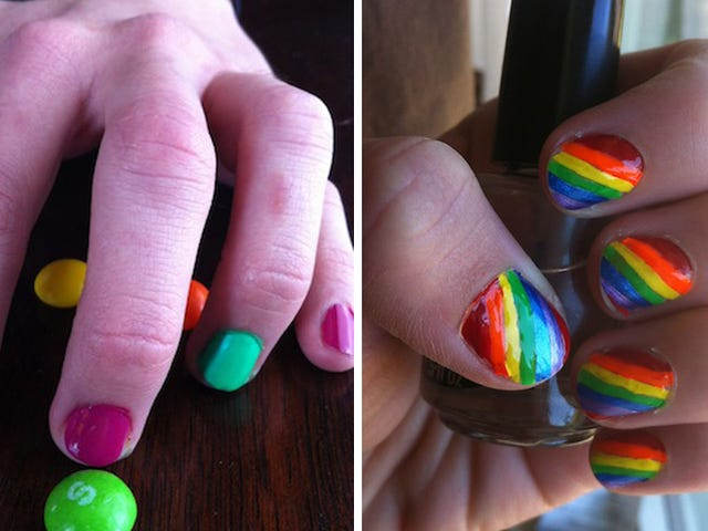 The Finger-Flagging Manicure for Ladies Who Are Into Ladies