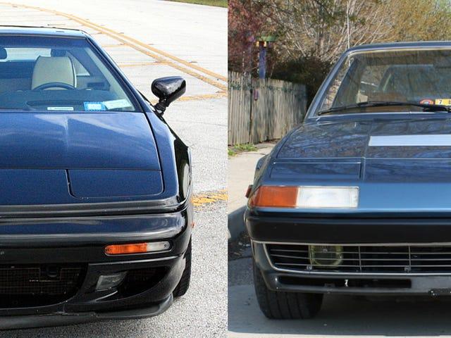 Used Car Face-Off: Pre-Owned Ferrari/Lotus Mega Battle