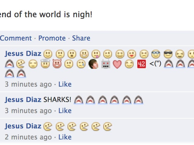 You Can Use Emoticons In Facebook Comments Now T_T