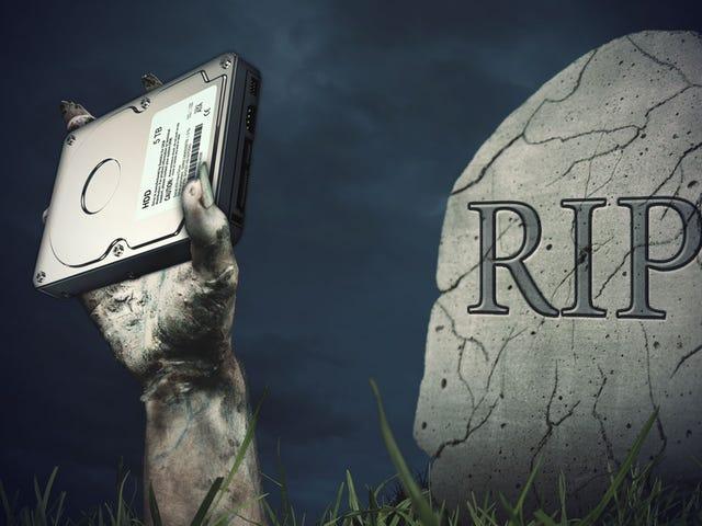 Bir Ölü veya Erased Sabit Sürücüden Nasıl Veri Kurtarabilirim?