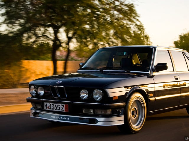 Your Ridiculously Awesome Alpina B9 (Tribute) Wallpaper Is Here