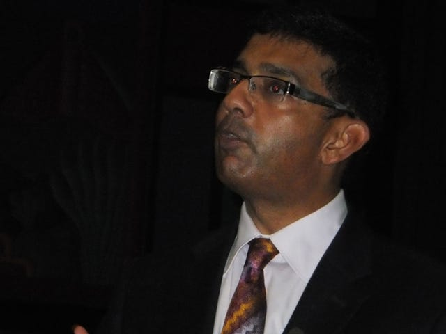 Evangelical Blowhard Dinesh D'Souza Seen Checking Into Hotel With Lady Who Was Not His Wife