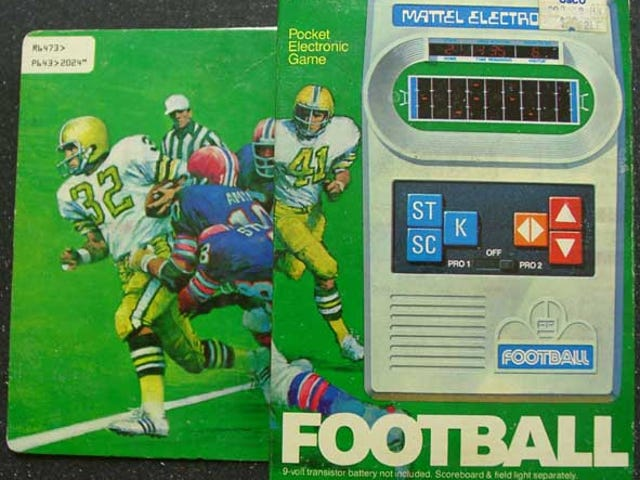 Mattel Football: 1979's King of Timewasters