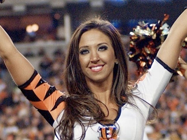 Don't Look Now, but the Bengals Cheerleader Who Had Sex with Her High School Student Is Probs Getting a Reality Show