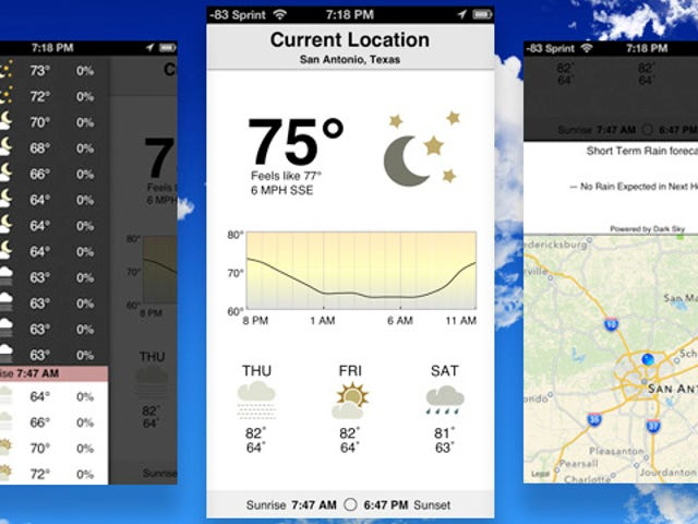 Check The Weather Is a Fast, Beautiful Weather App