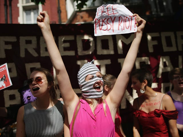 Get Your Ski Masks Ready: The Pussy Riot Trademark Is Now Up for Grabs