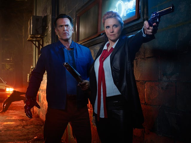 It's Time to Save the World (Again) in the First Ash vs Evil Dead Season Two Teaser