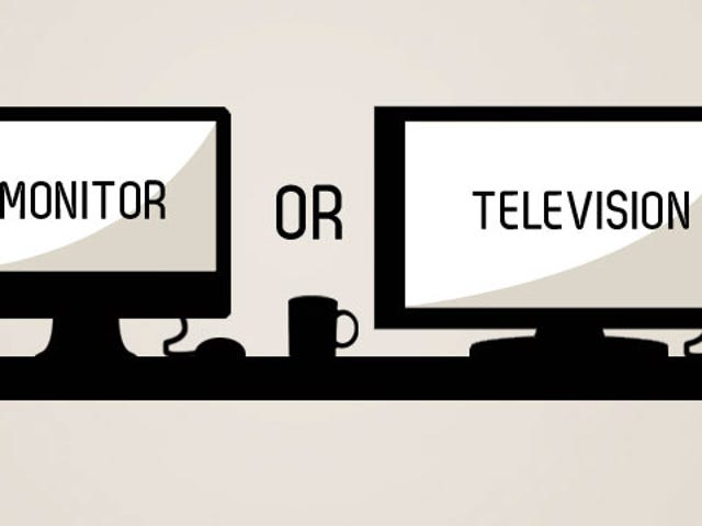 क्या कंप्यूटर मॉनिटर के रूप में एक एचडीटीवी का उपयोग करना ठीक है?