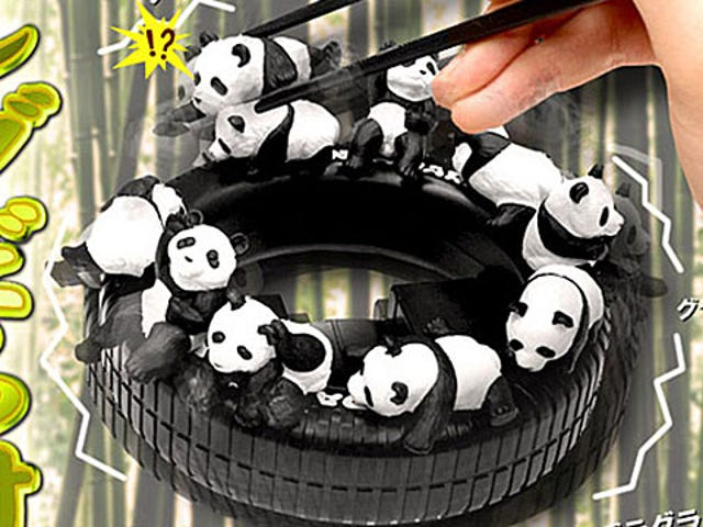 Hone Your Chopstick Skills With These Adorable Pandas